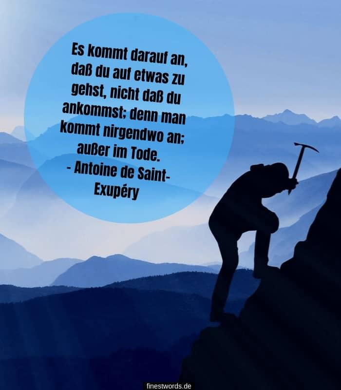 Antoine de Saint-Exupéry Zitat