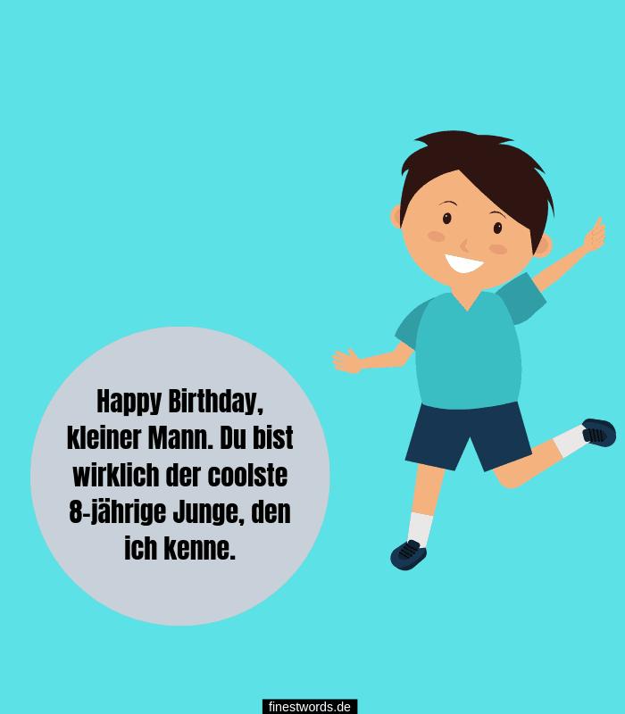 Geburtstagswunsch für Kinder