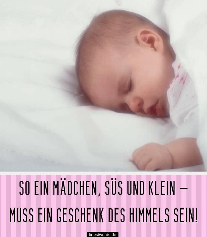Glückwünsche zur Geburt Mädchen