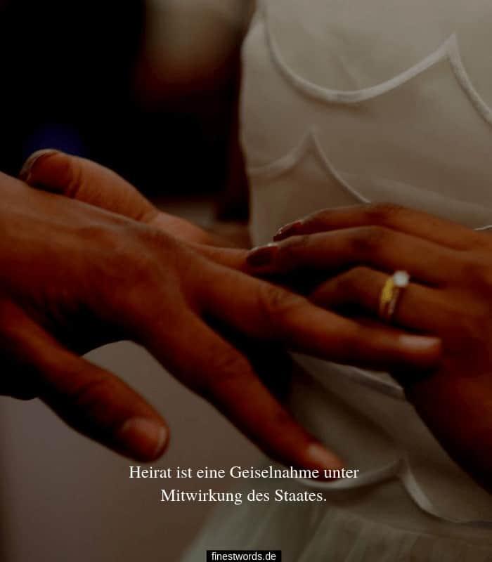 Lustiger Hochzeitsspruch