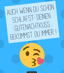 16 Gute Nacht Kuss Sprüche - finestwords