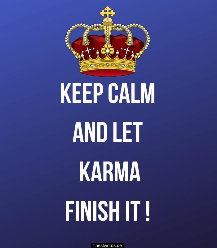 Verfallsdatum karma hat kein Karma hat