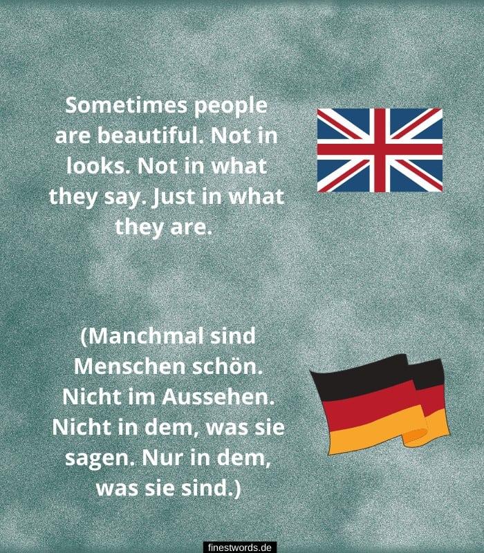 Schoene Englische Sprueche Mit Deutscher Uebersetzung