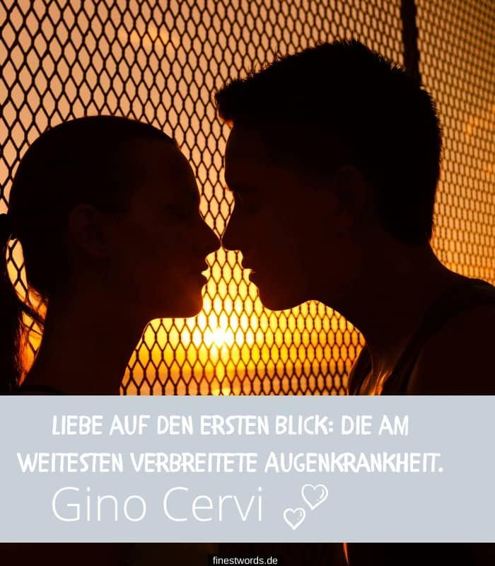 Liebe auf den ersten Blick: Die am weitesten verbreitete Augenkrankheit. -Gino Cervi