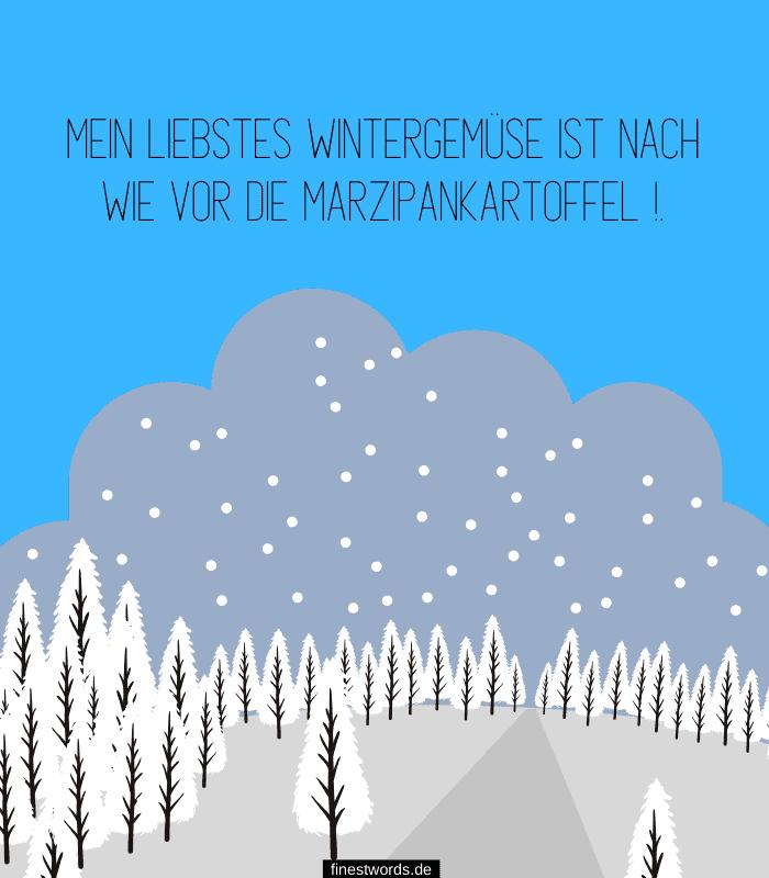 Mein liebstes Wintergemüse ist nach wie vor die Marzipankartoffel.