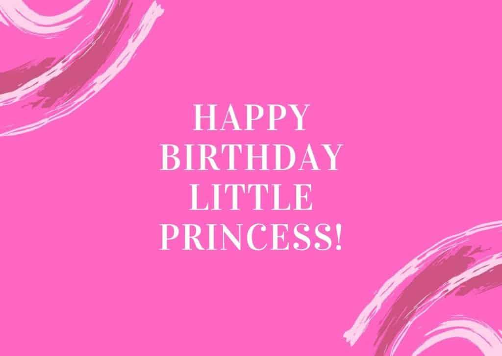 Glückwünsche zum 1. Geburtstag für Mädchen