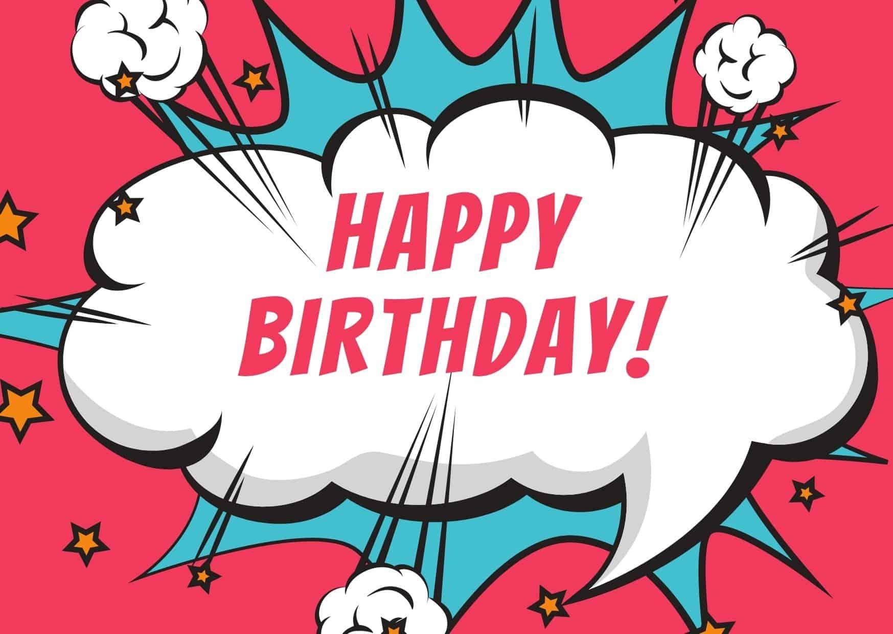 Kurze Glückwünsche zum 10. Geburtstag
