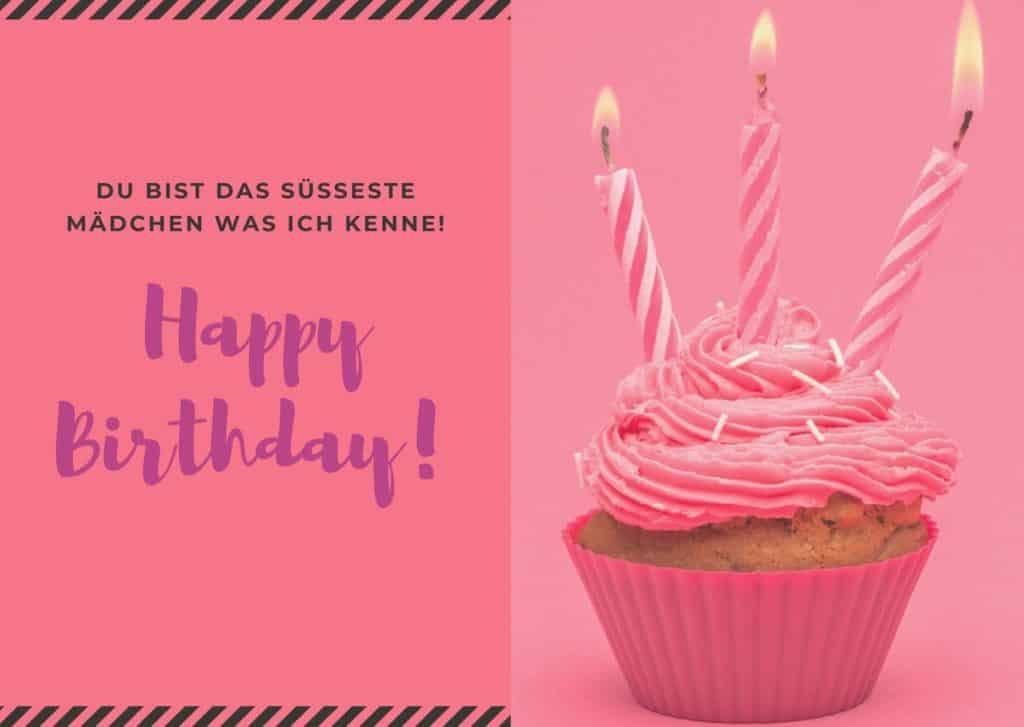 Glückwünsche zum 6. Geburtstag für Mädchen