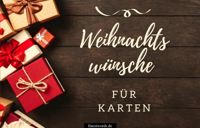 Weihnachtswünsche Für Karten: Kurz & Besinnlich