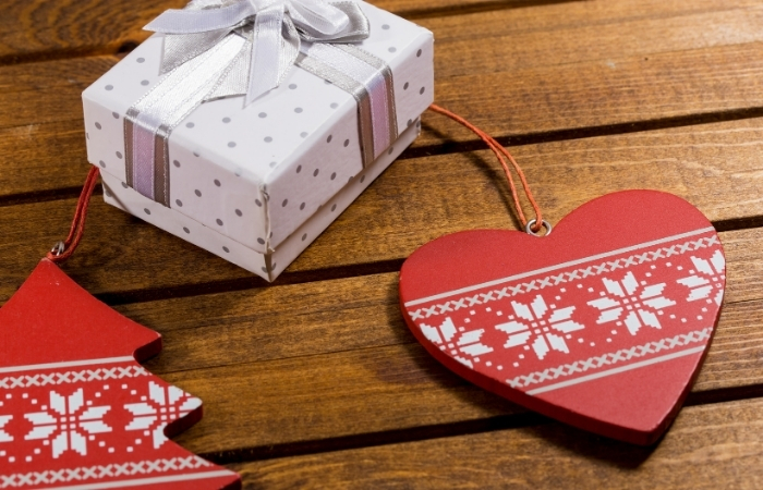 Weihnachtswünsche für Nachbarn