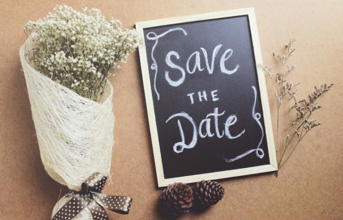 Save The Date Texte