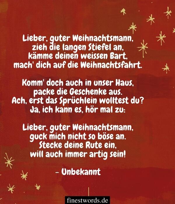 Besinnliche Weihnachtsgedichte für Kinder