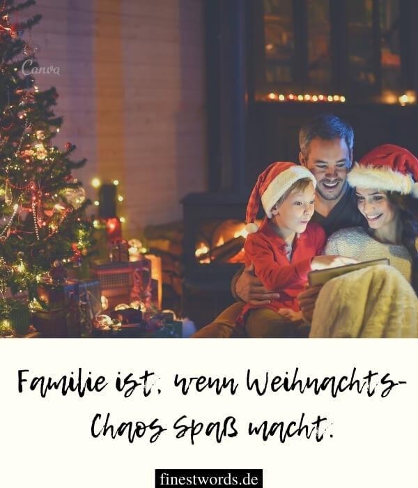Besinnliche Weihnachtswünsche für die Familie