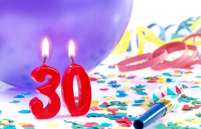 Einladungstexte zum 30. Geburtstag
