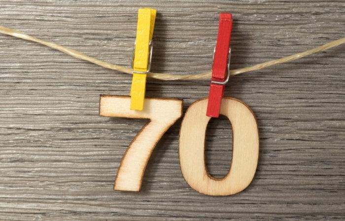 Einladungstexte zum 70. Geburtstag