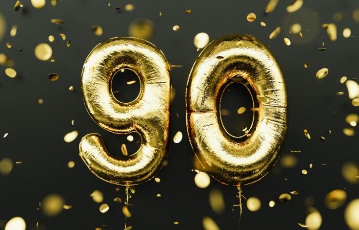 Einladungstexte zum 90. Geburtstag