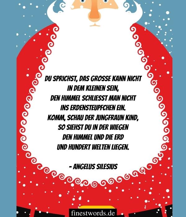 Kurze Weihnachtsgedichte zum Nachdenken