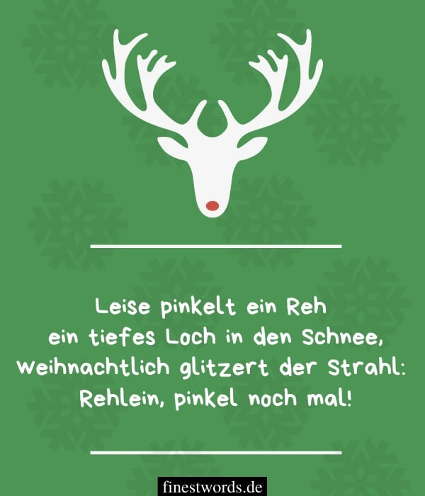Kurze, lustige Weihnachtswünsche