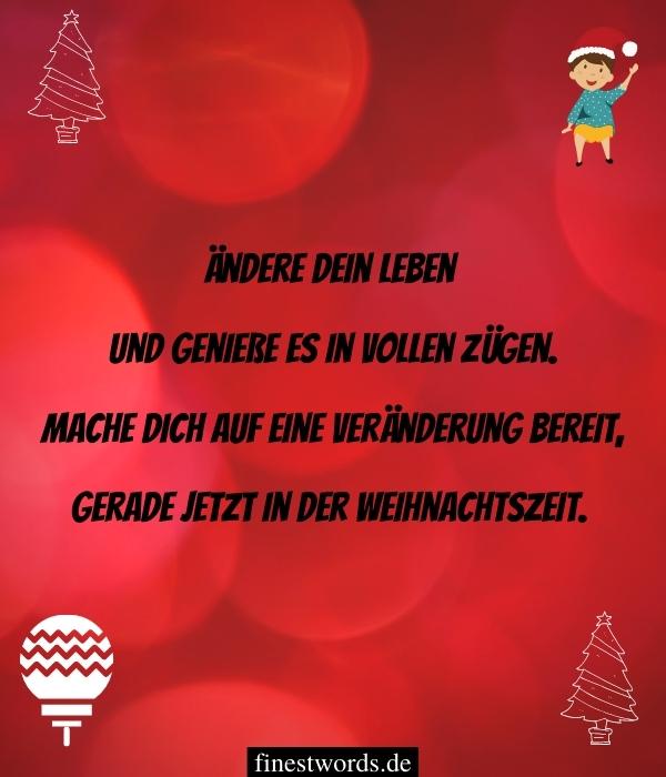 Moderne Weihnachtsgedichte zum Nachdenken