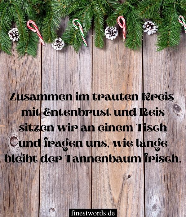Lustige, moderne Weihnachtsgedichte