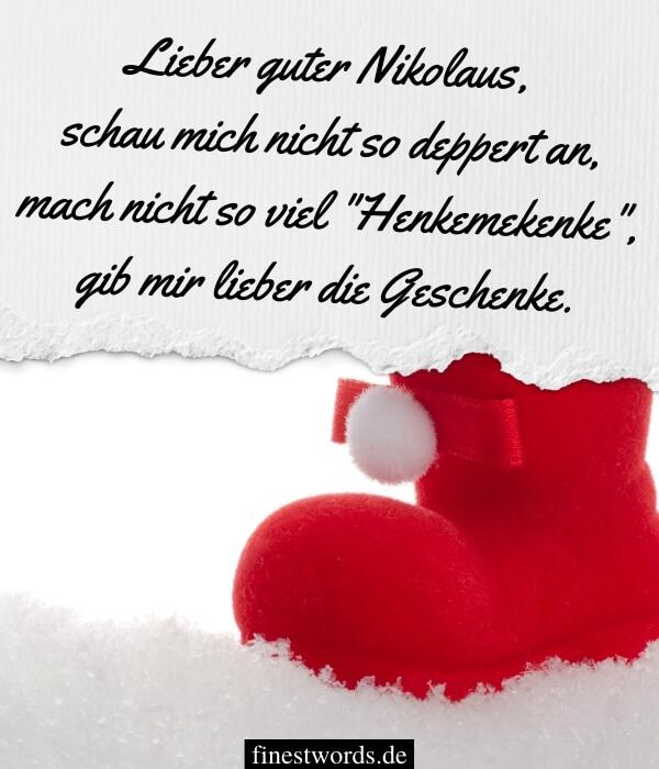 Lustige Nikolausgrüße
