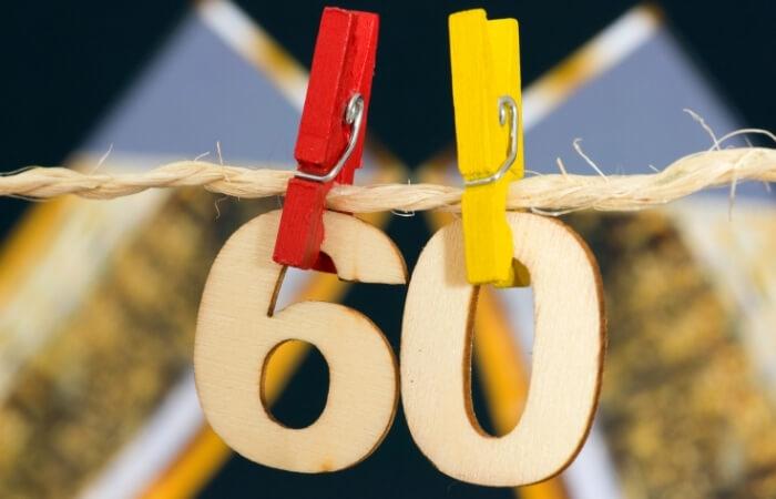 Sprüche zum 60. Geburtstag