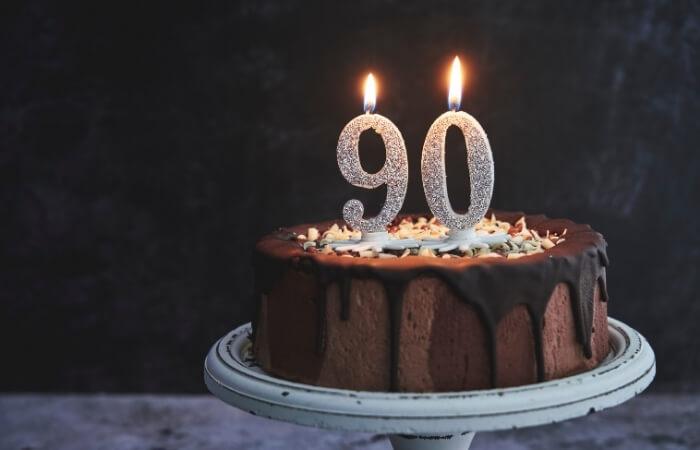 Sprüche zum 90. Geburtstag