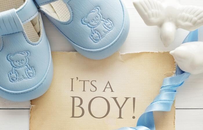 Sprüche zur Geburt für Jungen