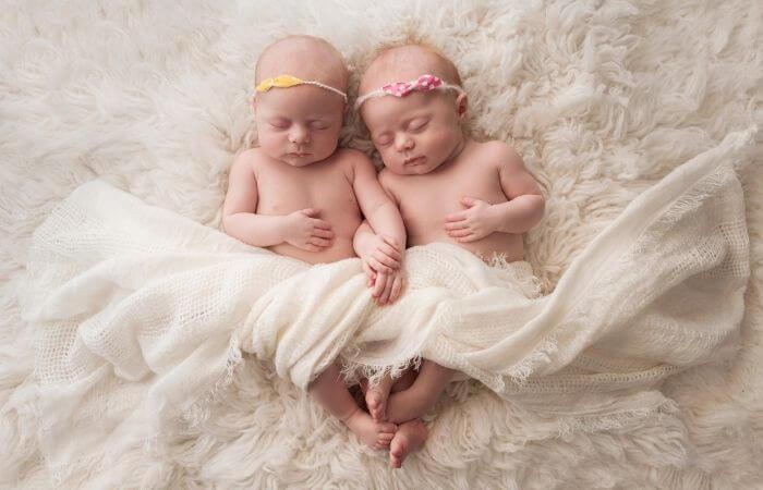 Taufsprüche für Zwillinge