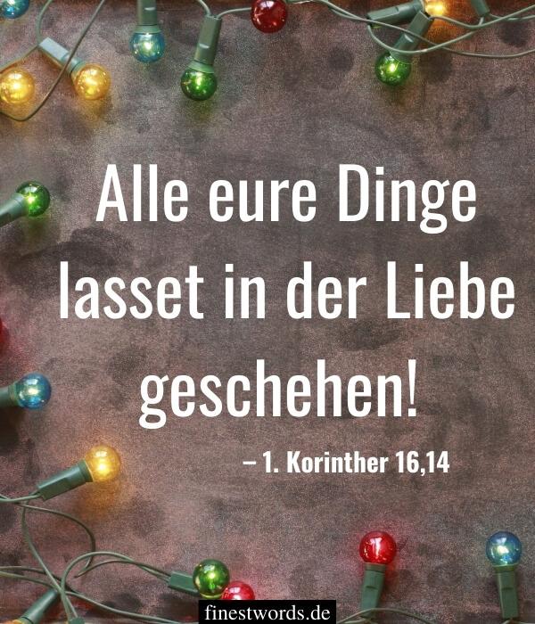Kurze, tiefgründige Weihnachtsgrüße