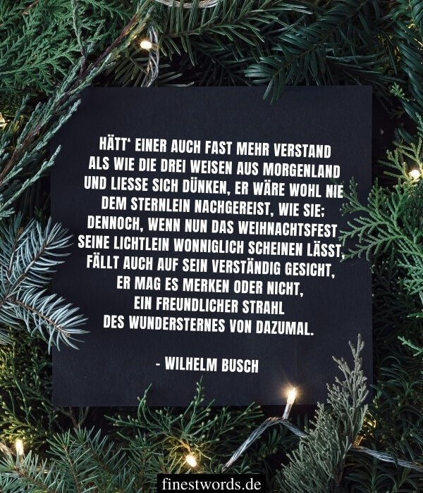 Weihnachtsgedichte