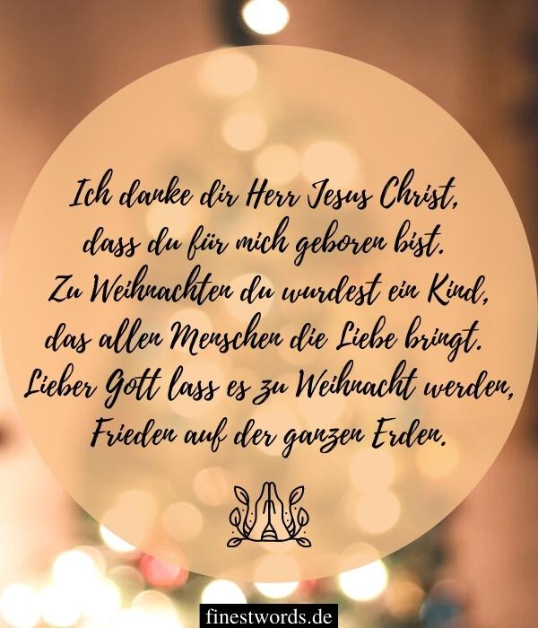 Christliche Weihnachtsgedichte für Kinder