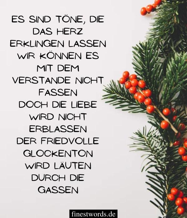 Besinnliche Weihnachtsgedichte zum Nachdenken