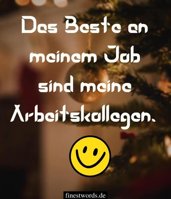 Weihnachtswünsche unter Mitarbeiter