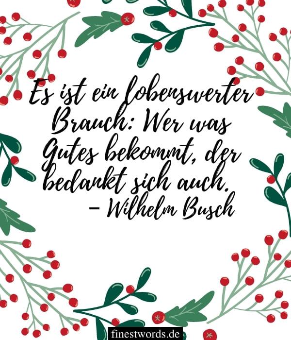 Dankesgrüße an Weihnachten für Kollegen
