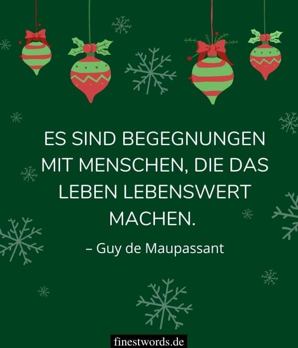 Weihnachtswünsche für liebe Menschen