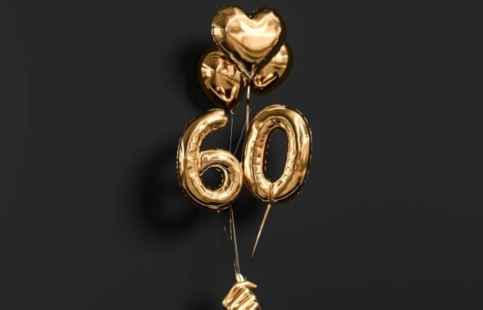 Einladungstexte zum 60. Geburtstag