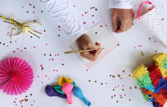 Kurze Einladungstexte zum Geburtstag