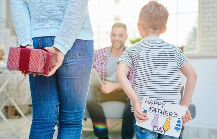 Vatertagskarte schreiben
