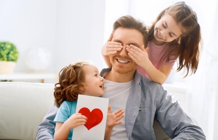 Vatertagssprüche von Kindern