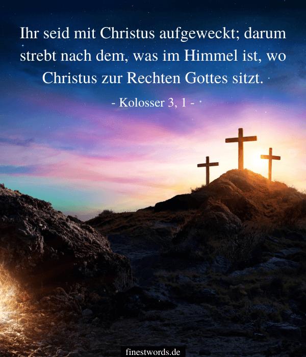 Christliche Bibelverse zu Ostern