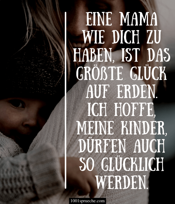 Dankessprüche zum Muttertag: Bild zum Verschicken