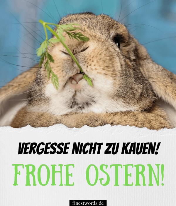 Lustige Ostergrüße für Kinder: Bild zum Verschicken
