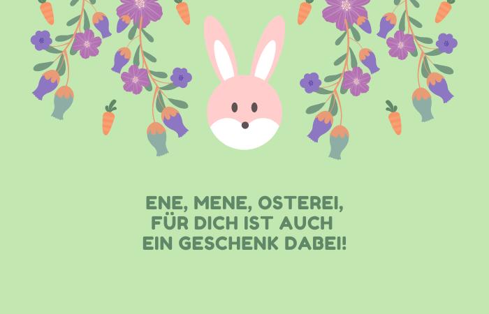 Sprüche für Osterkarten an Kinder