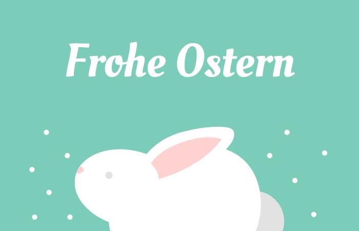 Die schönsten Sprüche für Osterkarten