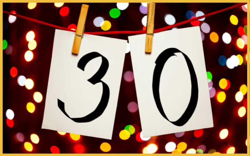 Sprüche für Einladungen zum 30. Geburtstag