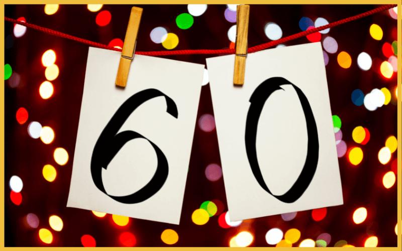 Sprüche für Einladungen zum 60. Geburtstag