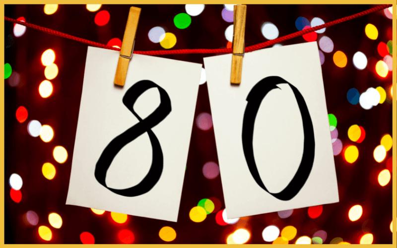 Sprüche für Einladung zum 80. Geburtstag