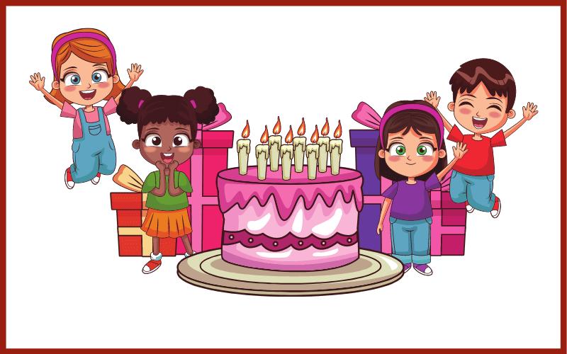 Sprüche für Einladungen zum Kindergeburtstag