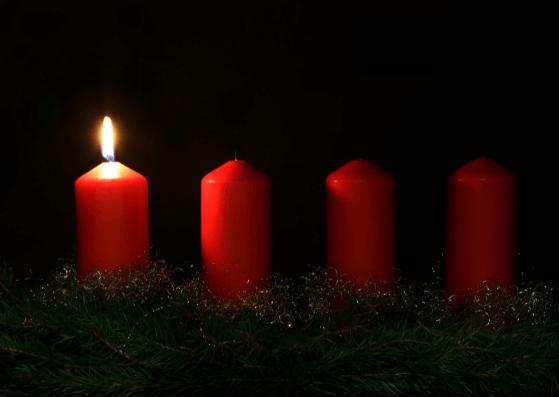 1. Advent Weihnachtskarten zum Ausdrucken